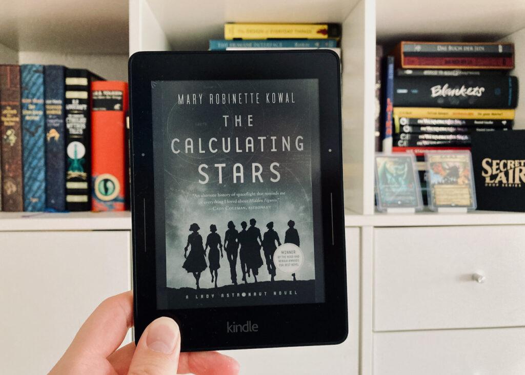 Das Buchcover von The Calculating Stars